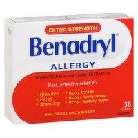 Benadryl - Allergy - Extra Strength, 36 Each