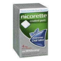 Nicorette - Nicotine Gum 4 mg Ext Chill Menthol, 105 Each