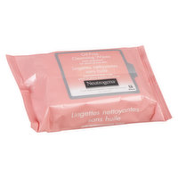 Neutrogena - Oil Free Cleansing Wipes - Pink Grapefruit, 25 Each