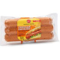 Western Family Western Family - Cheese Smokies, 6 Each