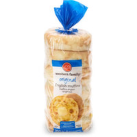 Great any time of the day! 6 English muffins. No artificial colours or flavours.