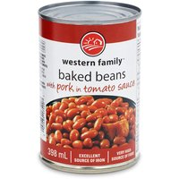 Western Family - Beans with Pork in Tomato Sauce