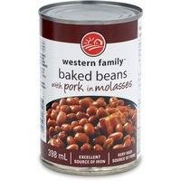 Western Family - Beans with Pork in Molasses