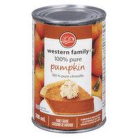Western Family - 100% Pure Pumpkin, 398 Millilitre