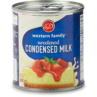 Western Family - Sweet Condensed Milk, 300 Millilitre