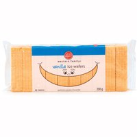 Vanilla Flavoured Ice Wafer Cookies.
