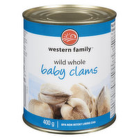 Western Family - Whole Baby Clams