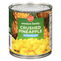 Crushed Pineapple in Pineapple Juice.