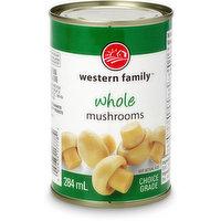 Western Family - Whole Mushrooms