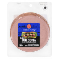 Western Family Sliced Bologna is ready to eat. Great as a snack or to put in your sandwich.