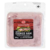 Western Family - Sliced Cooked Ham, 375 Gram