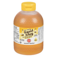 Liquid Honey. Canada No.1 White. Unpasteurized.