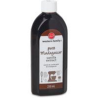 Western Family - Pure Madagascar Vanilla Extract, 250 Millilitre