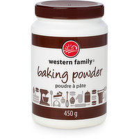 Is a dry leavening agent. Adds volume & lightens texture of baked goods.