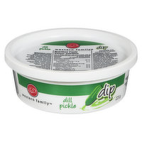 Western Family - Dill Pickle Chip Dip, 225 Gram