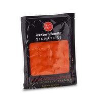 Frozen, Ocean Wise, Wild Sockeye Salmon.