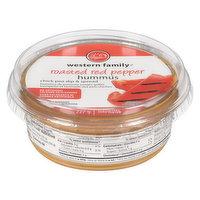 Western Family - Hummus - Roasted Red Pepper, 227 Gram