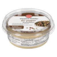 Western Family - Hummus - 60 Pepper, 227 Gram
