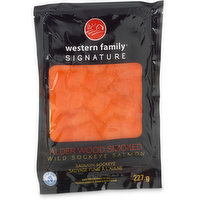 Ocean Wise Sliced, Frozen Wild Sockeye Salmon.