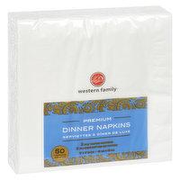 Western Family Western Family - Premium Dinner Napkins, 50 Each