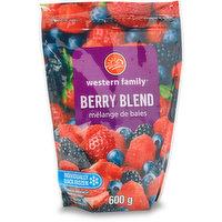 Strawberries, blueberries, blackberries & raspberries. Very high in vitamin C. Unsweetened.