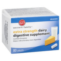 Western Family - Extra Strength Dairy Digestive Suplement