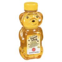 Western Family - 100% Canadian Liquid Honey - Bear