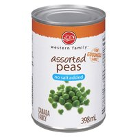 Western Family - Unsalted Peas