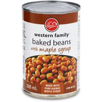 Western Family - Beans with Maple Syrup