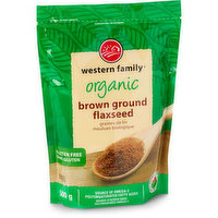 Western Family - Organic Brown Ground Flaxseed