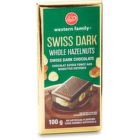 Western Family - Swiss Dark Chocolate Bar