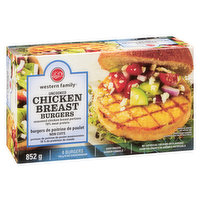 Western Family - Chicken Breast Burgers