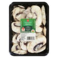 Western Family - Organic White Sliced Mushrooms, 227 Gram