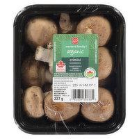 Western Family Western Family - Organic Crimini Mushrooms, 227 Gram