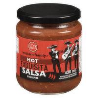 Western Family - Exquisita Hot Salsa, 430 Millilitre