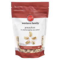 Western Family - Pistachios in Shell - Salted, 300 Gram