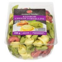Western Family - Rainbow Cheese Tortellini Pasta, Fresh