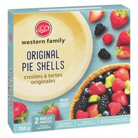 2 frozen pie shells. Perfect for your pies of any type savory or sweet.
