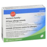 Western Family - Allergy Remedy Loratidine Non Drowsy, 48 Each