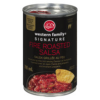 A Unique Southwestern Style Salsa Enhanced by the Rich Smoky Flavour of Fire Roasted Tomatoes and Jalapeno and Anaheim Peppers. Medium Heat.