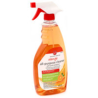 Antibacterial with pure orange oil.