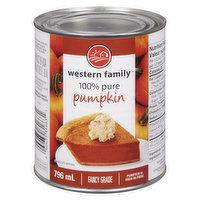 Western Family - 100% Pure Pumpkin, 796 Millilitre