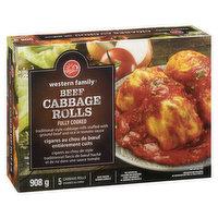 Western Family - Beef Cabbage Rolls, 908 Gram