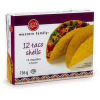 Western Family - Taco Shells, 156 Gram
