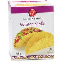 Western Family - Taco Shells, 36 Each