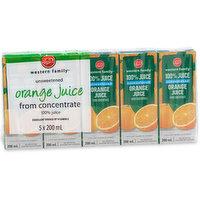 Western Family - Orange Juice Unsweetened