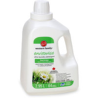 Western Family Western Family - Natural Laundry Detergent - Ultra Free & Clear, 2.95 Litre