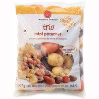 Western Family Western Family - Trio Mini Potatoes, 907 Gram