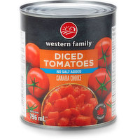 Western Family - Tomatoes - Diced No Salt Added