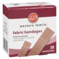 Western Family - Fabric Bandages Assorted Sizes